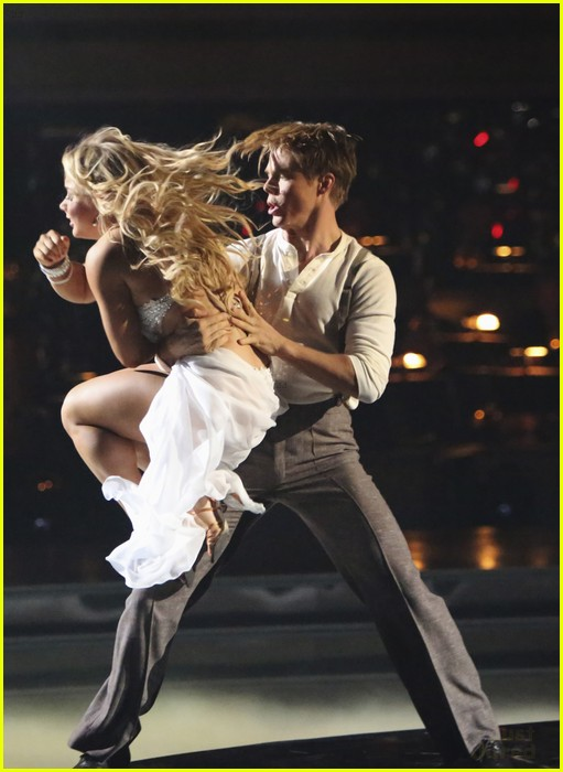 shawn johnson derek hough rumba dwts 14