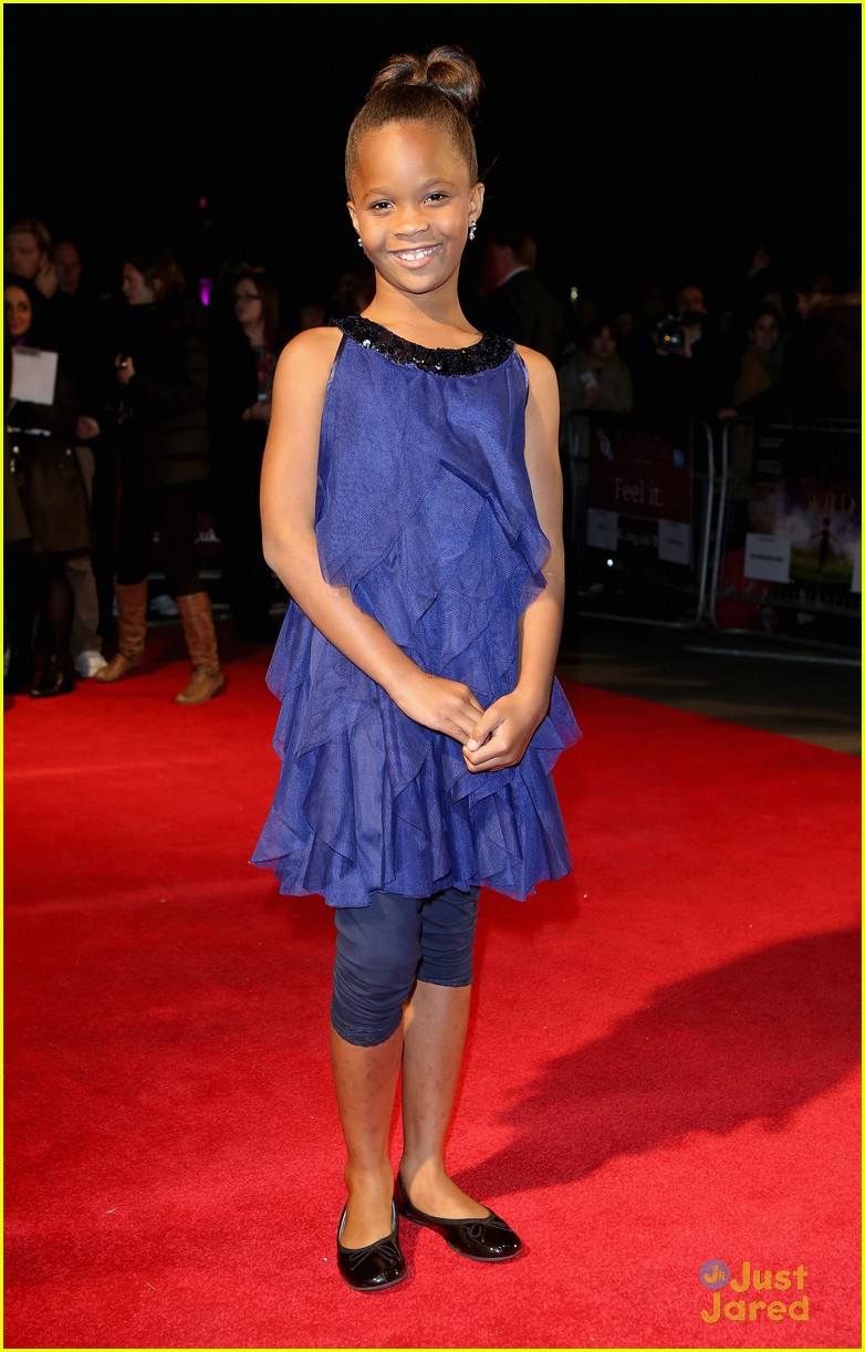 quvenzhane wallis beasts of the southern wild london premiere 12