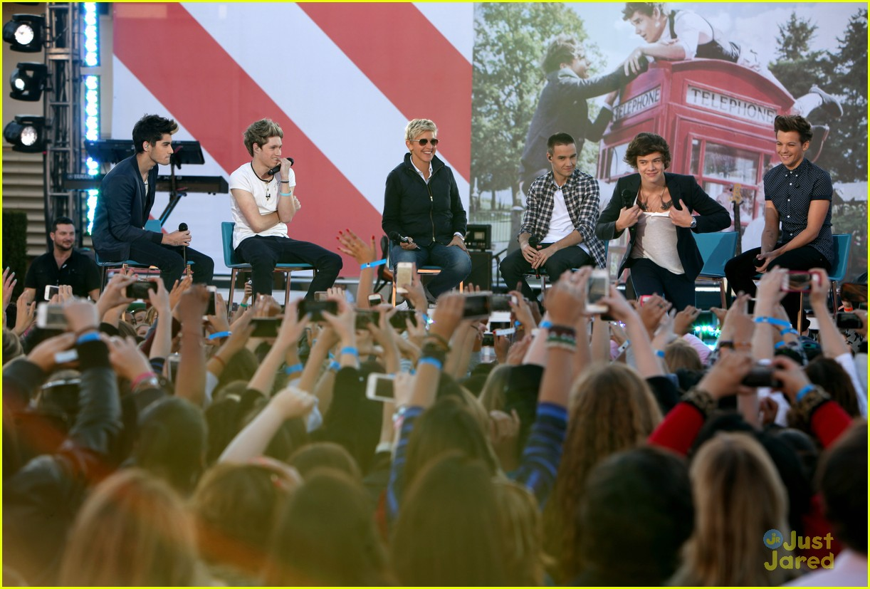 one direction ellen visit13