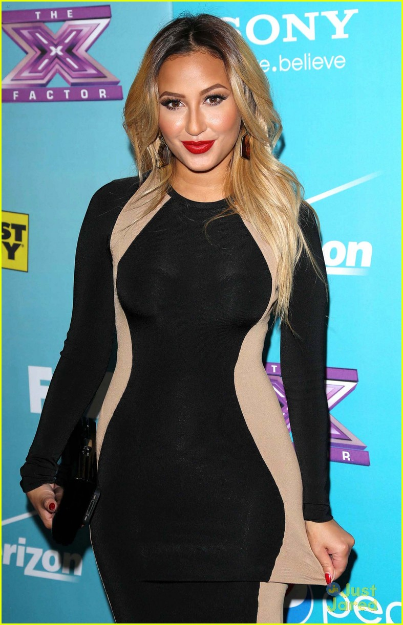 adrienne bailon xfactor finalist party 02