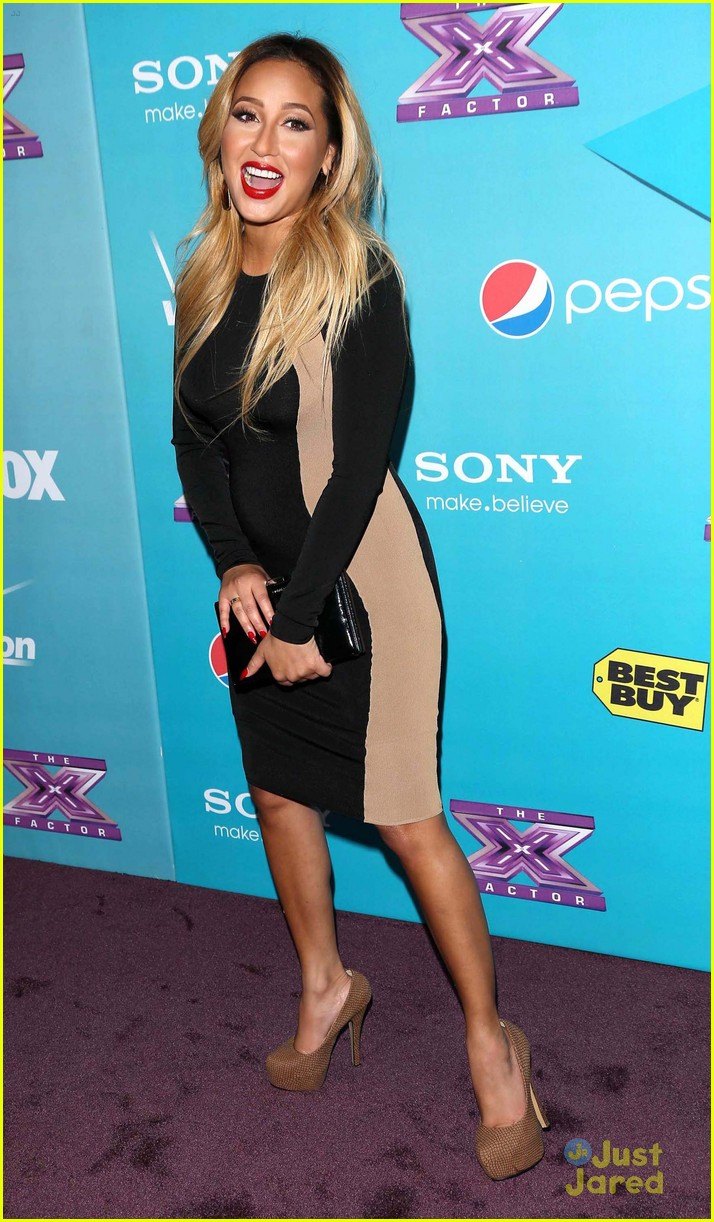 adrienne bailon xfactor finalist party 06