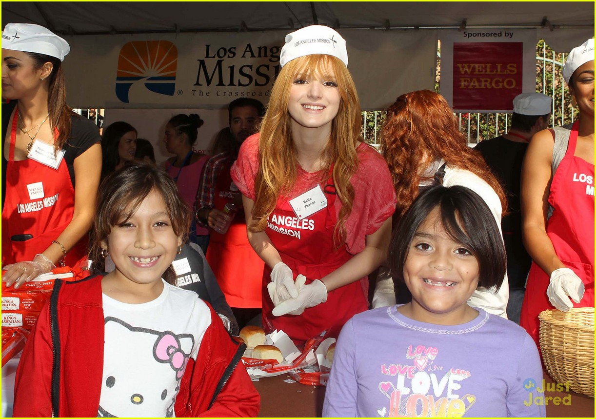 bella thorne christian serratos la mission thanksgiving 07