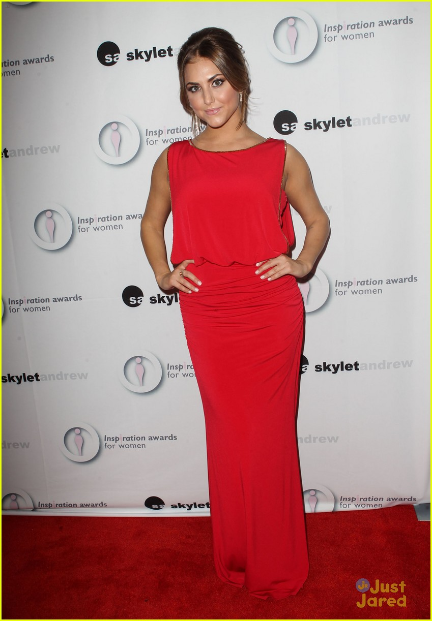 cassie scerbo inspiration awards 05