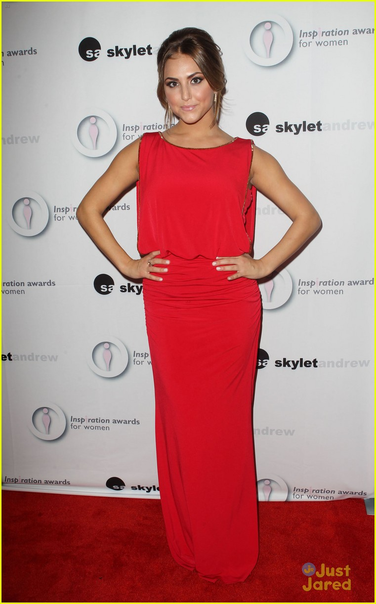 cassie scerbo inspiration awards 06