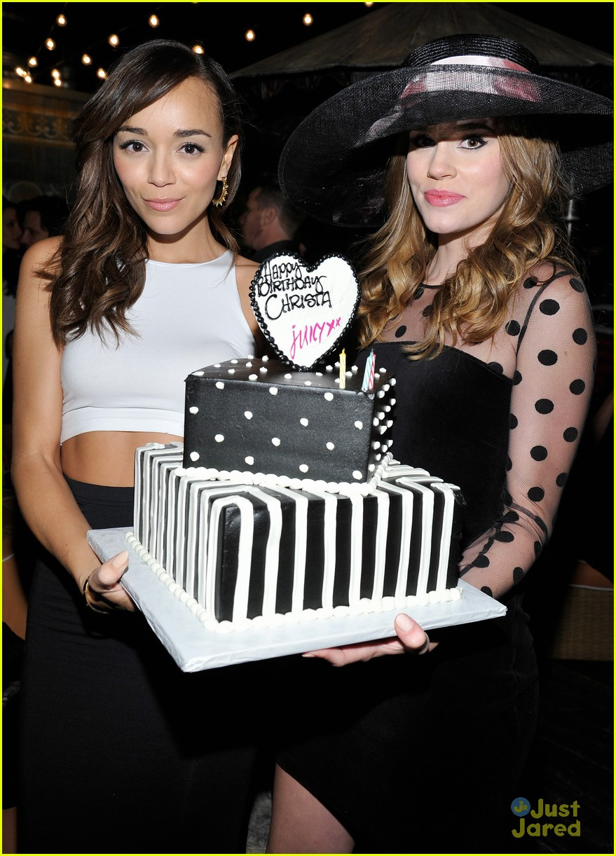 christa allen bday ashley madekwe 07