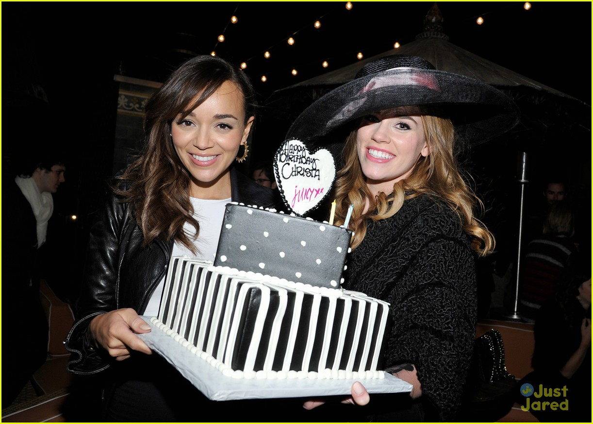 christa allen bday ashley madekwe 22