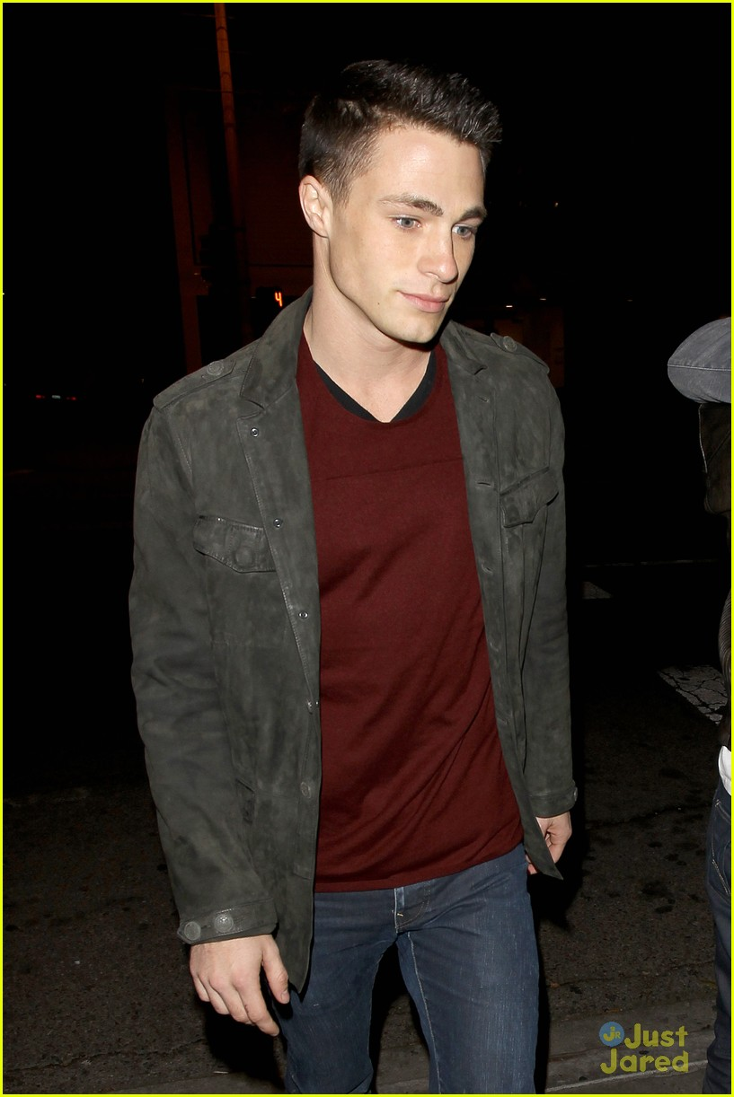 colton haynes bagatelle dinner 07