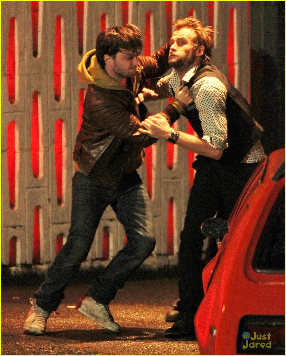 daniel radcliffe horns fight 07