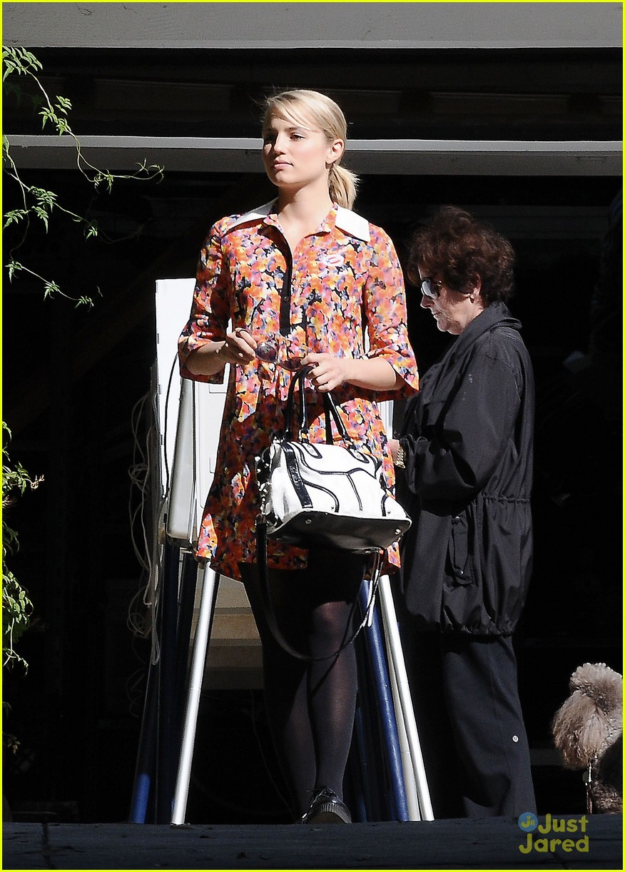 dianna agron vote sticker 13