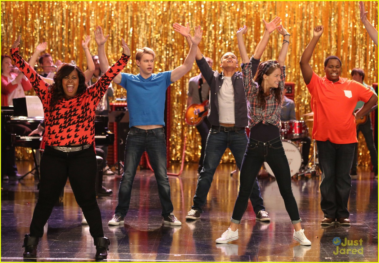 amber riley harry shum jive glee 08