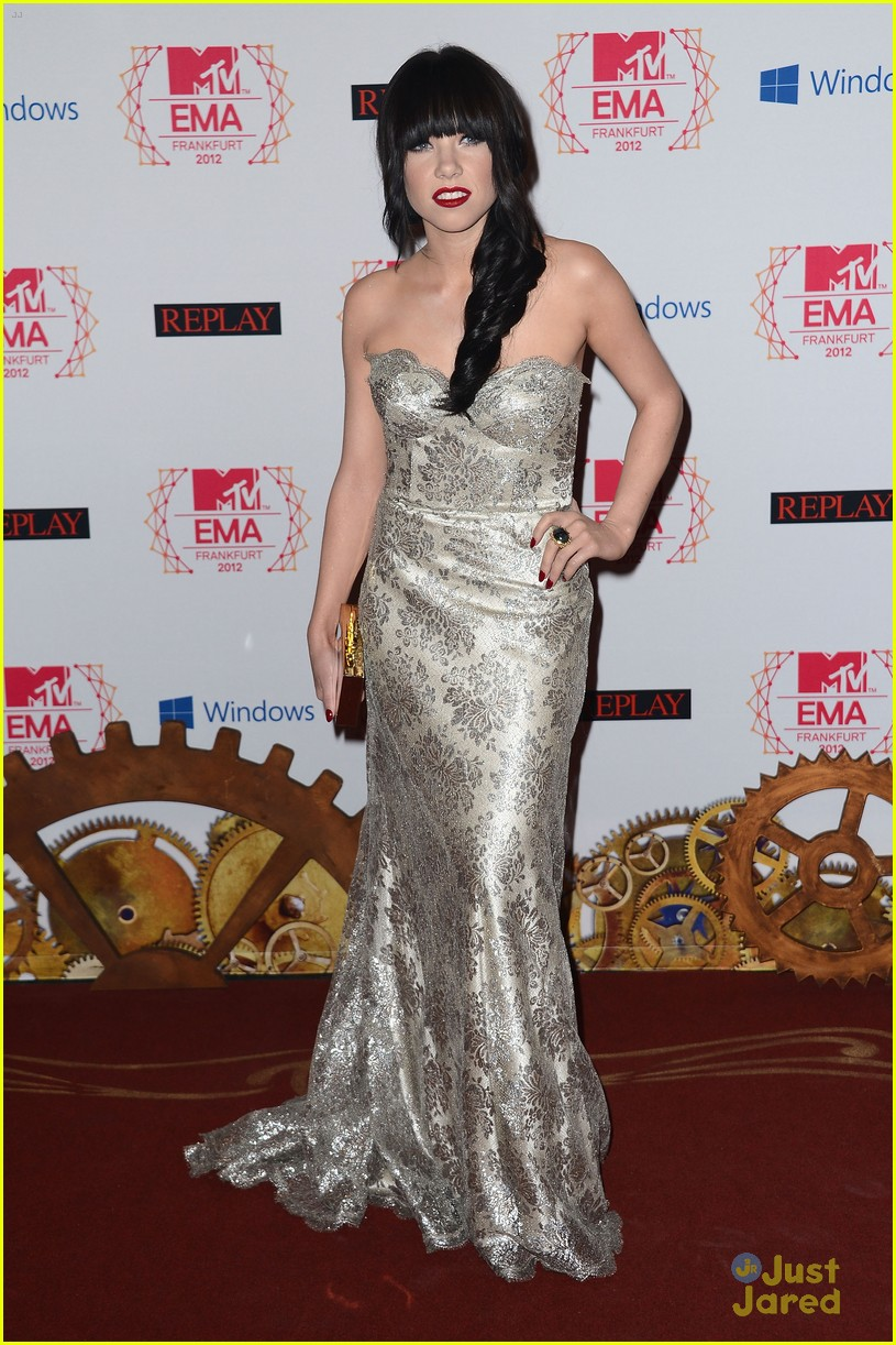 carly rae jepsen mtv emas 09