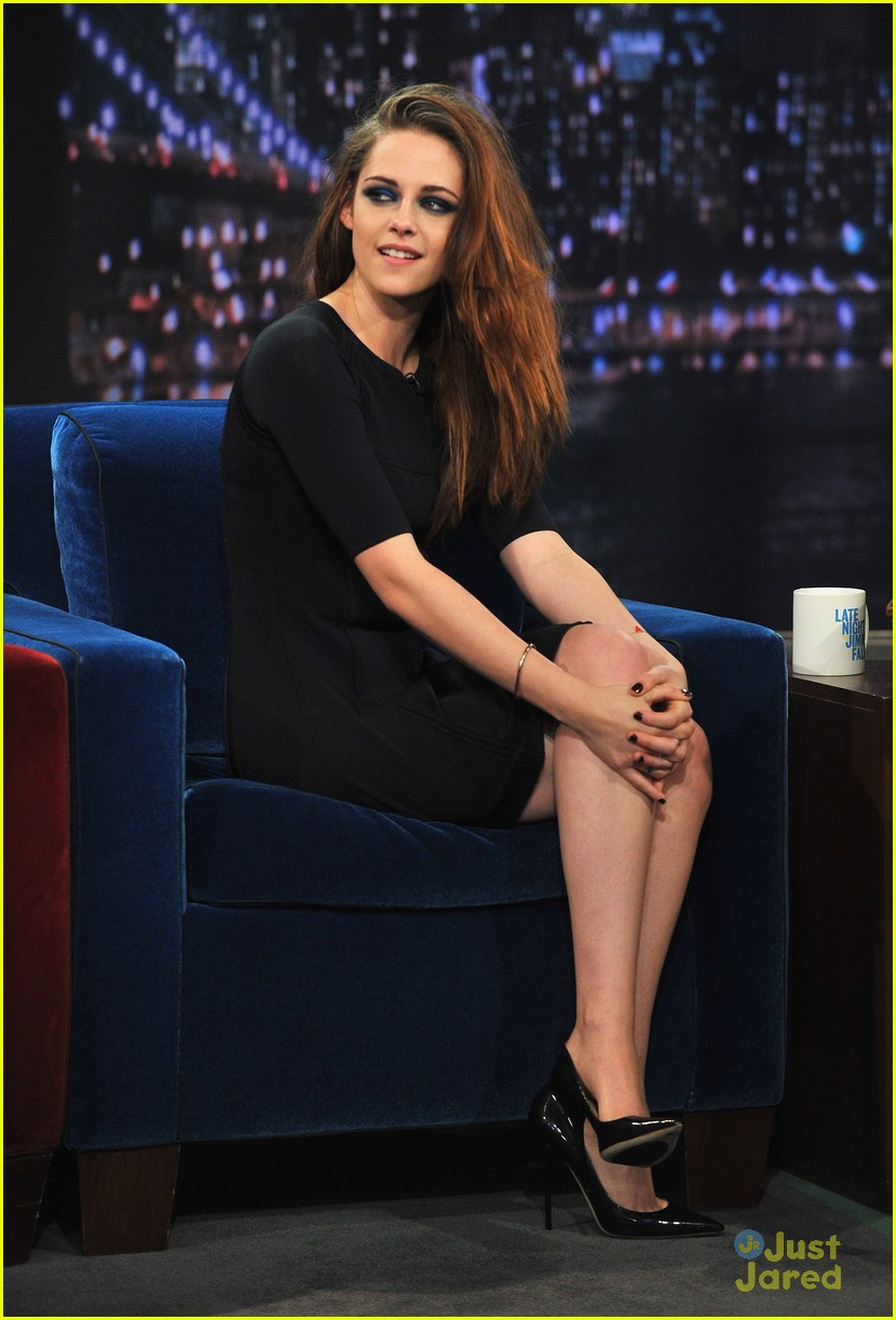 kristen stewart live fallon nyc 11