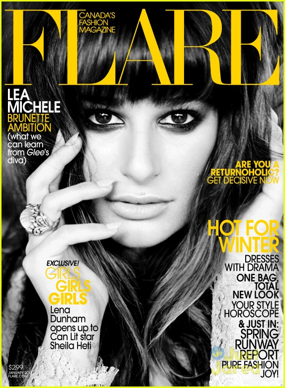 lea michele flare jan 2013 01