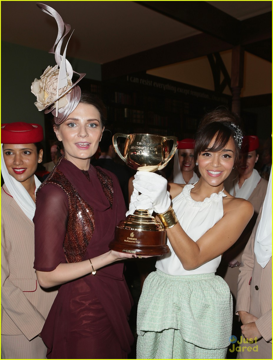 ashley madekwe melbourne cup 04