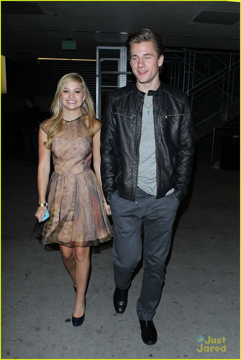 olivia holt luke benward bd after party 03