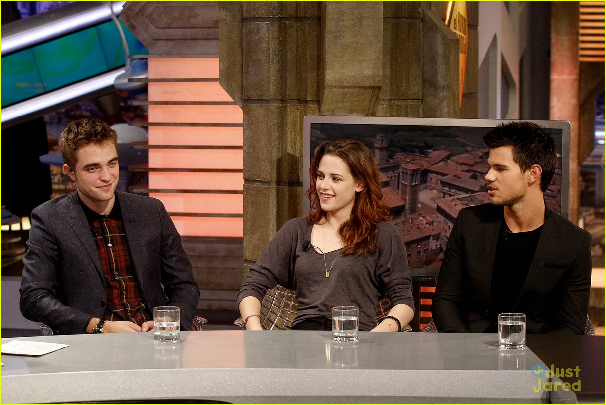 robert pattinson kristen stewart el hormiguero 12