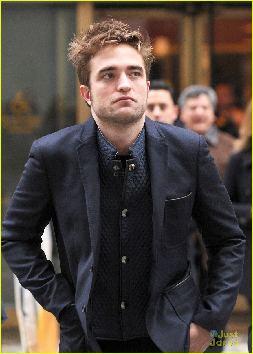 rob pattinson today show stop 08