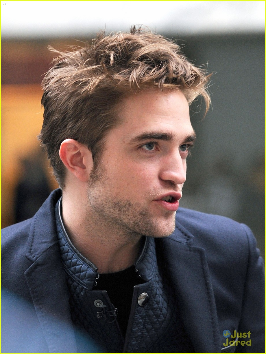 rob pattinson today show stop 09
