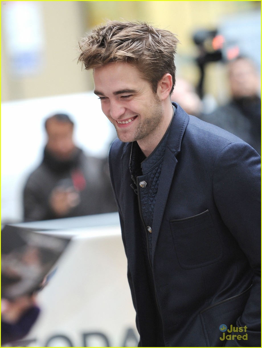 rob pattinson today show stop 12