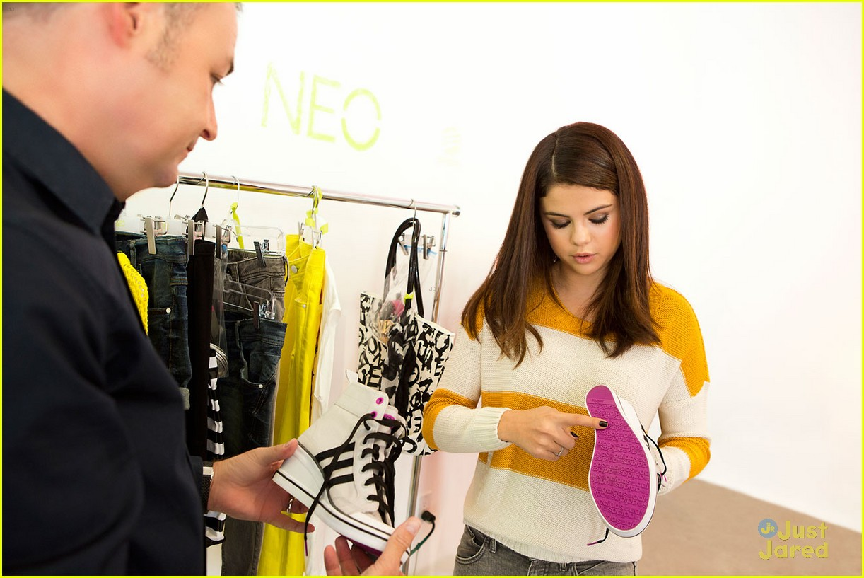 selena gomez adidas neo line 03