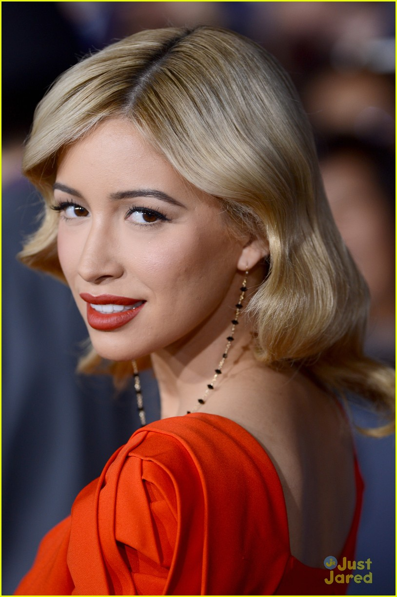 christian serratos bd premiere 02