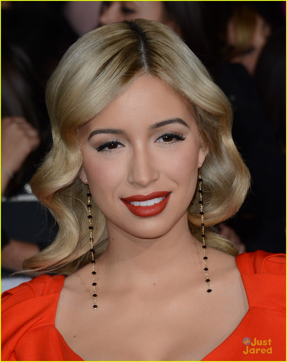 christian serratos bd premiere 14
