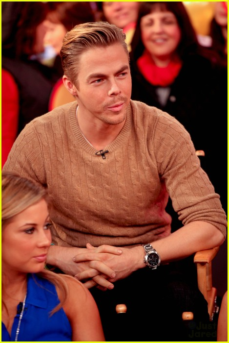 shawn johnson derek hough gma 08