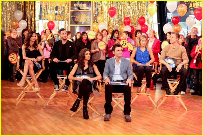 shawn johnson derek hough gma 10