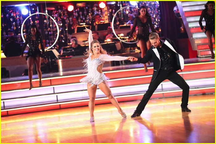 shawn johnson derek hough second dwts 09