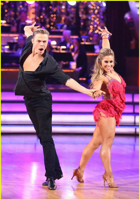 shawn johnson derek hough second dwts 13