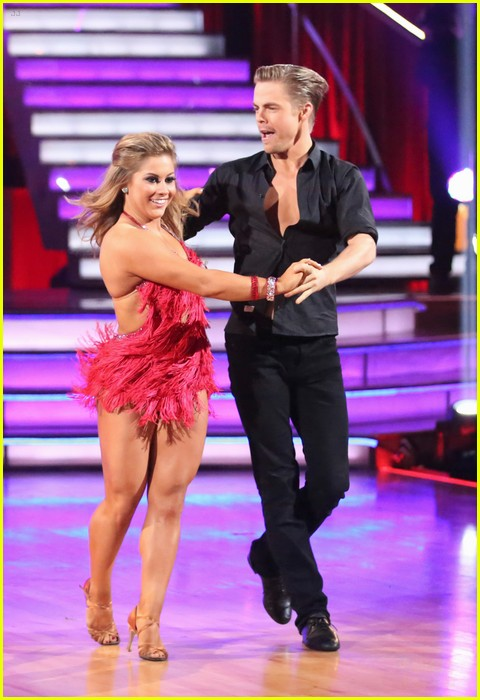 shawn johnson derek hough second dwts 18