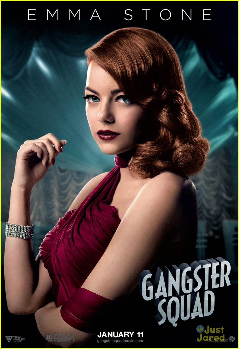 emma stone gangster poster 01