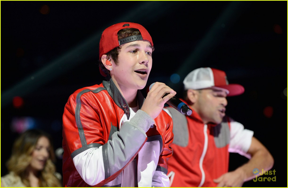 austin mahone y100 jingle ball 03