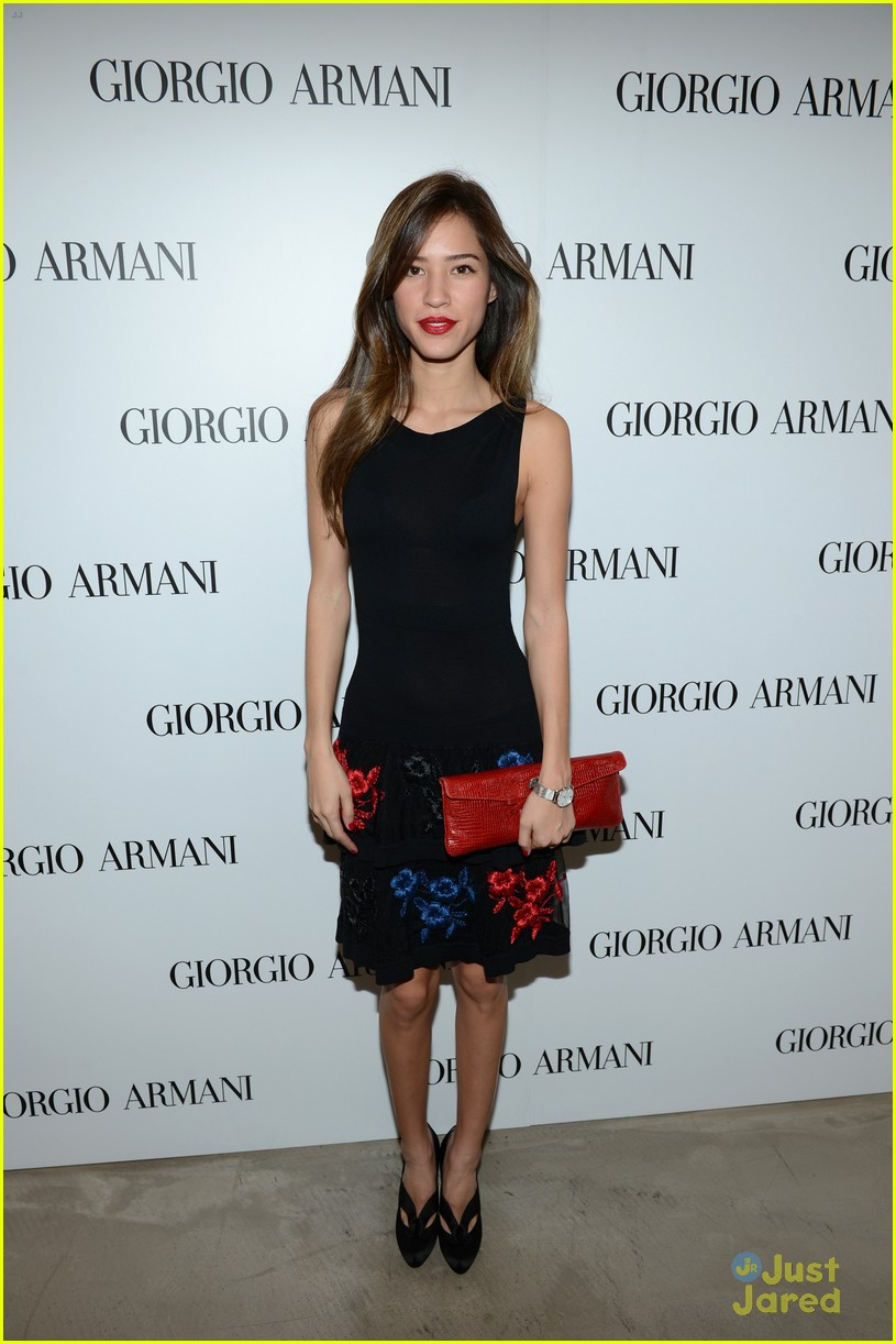 brittany snow kelsey chow armani event 01