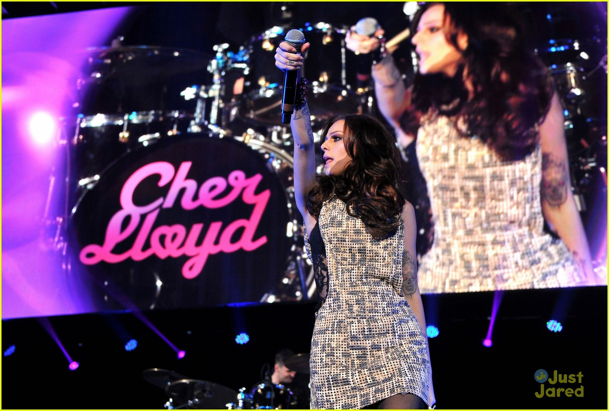 cher lloyd dc jingle ball 09