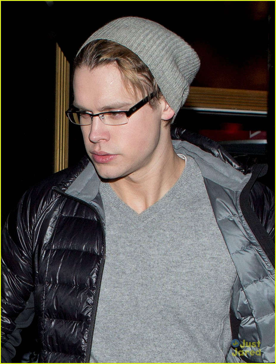 chord overstreet shirtless for dreamers nyc 01