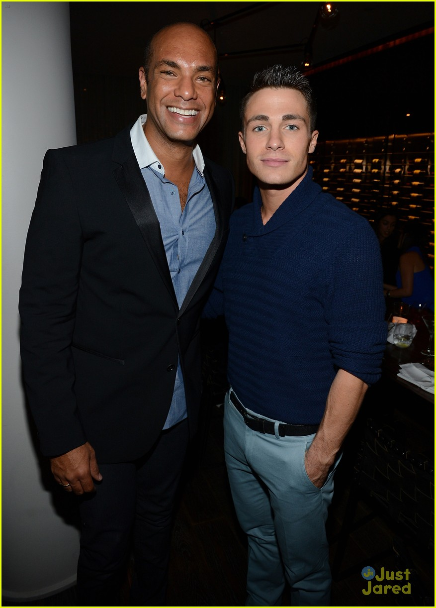 colton haynes nylon dinner 01