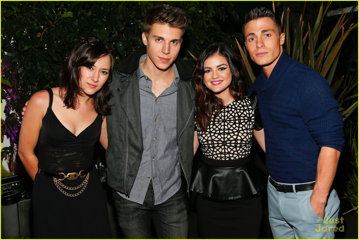 colton haynes nylon dinner 08