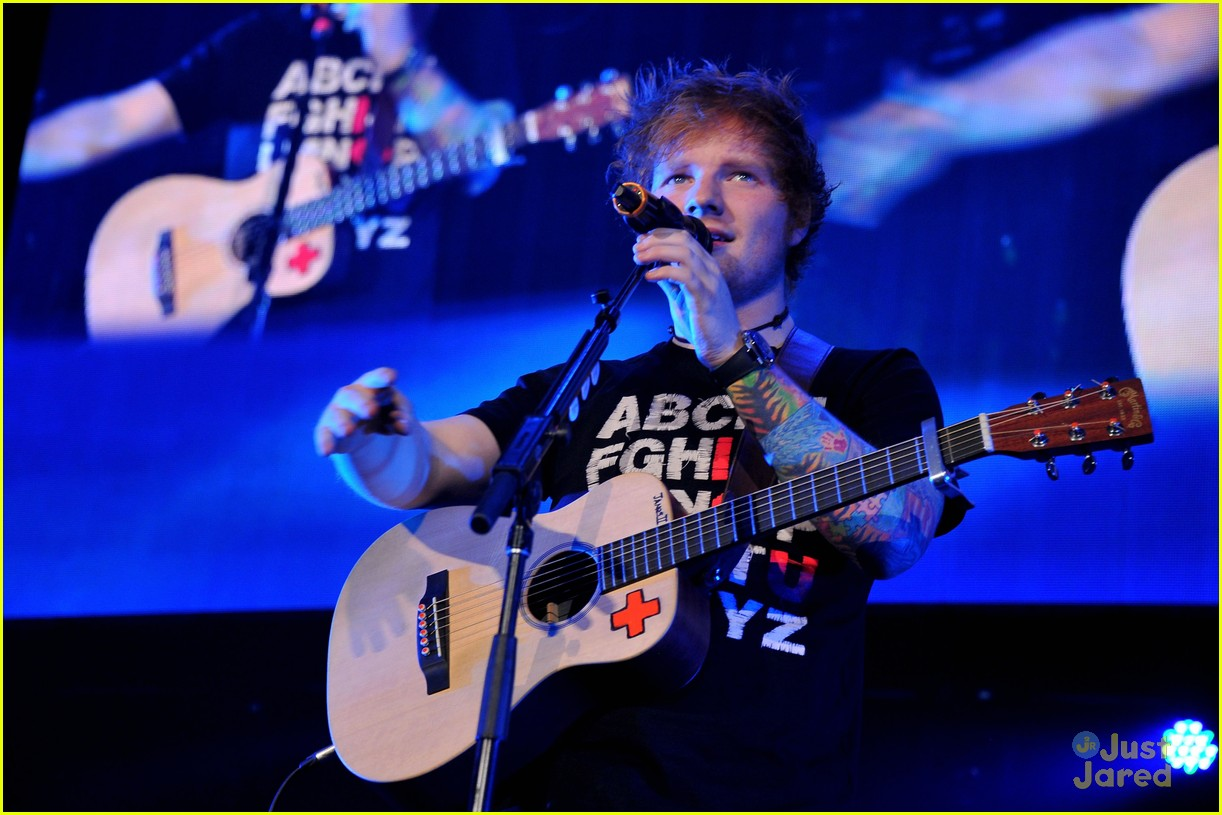 ed sheeran dc jingle ball 07