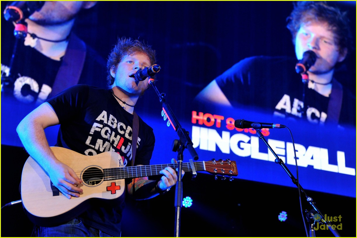ed sheeran dc jingle ball 10