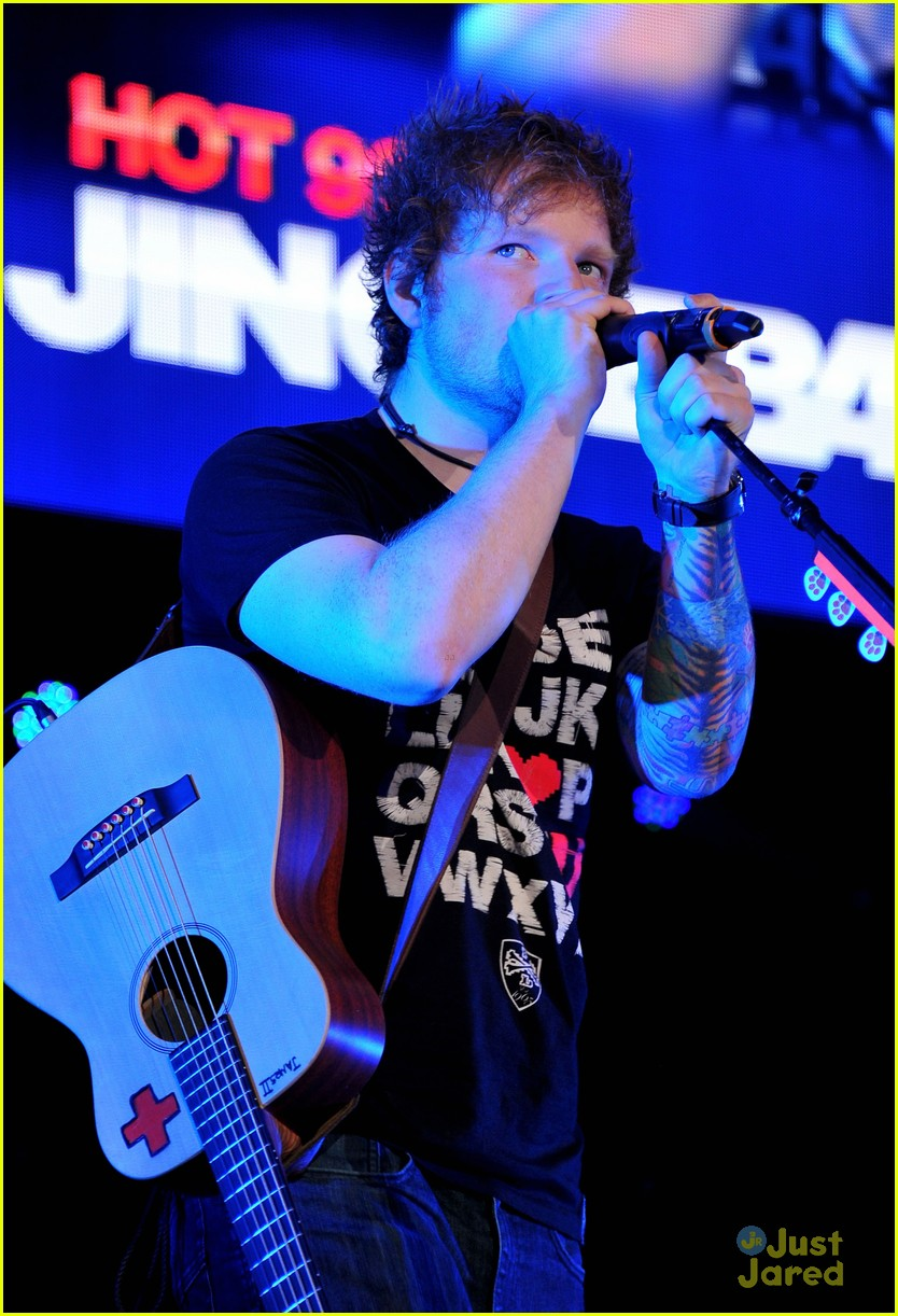 ed sheeran dc jingle ball 16
