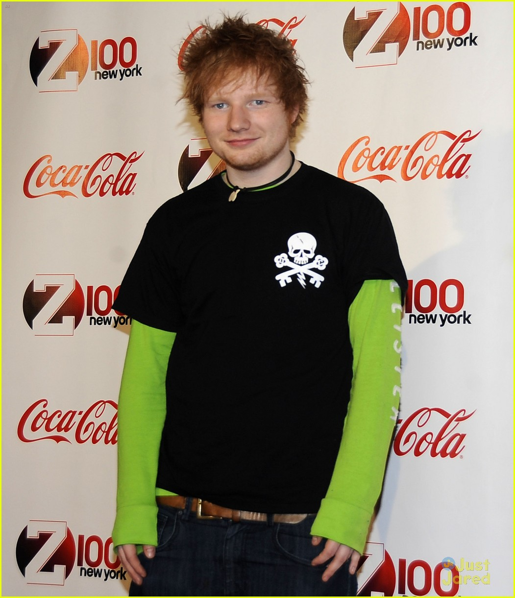 ed sheeran z100 jingle ball 10