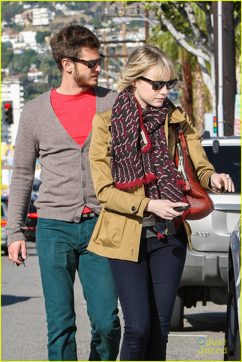 emma stone andrew garfield lunch 07