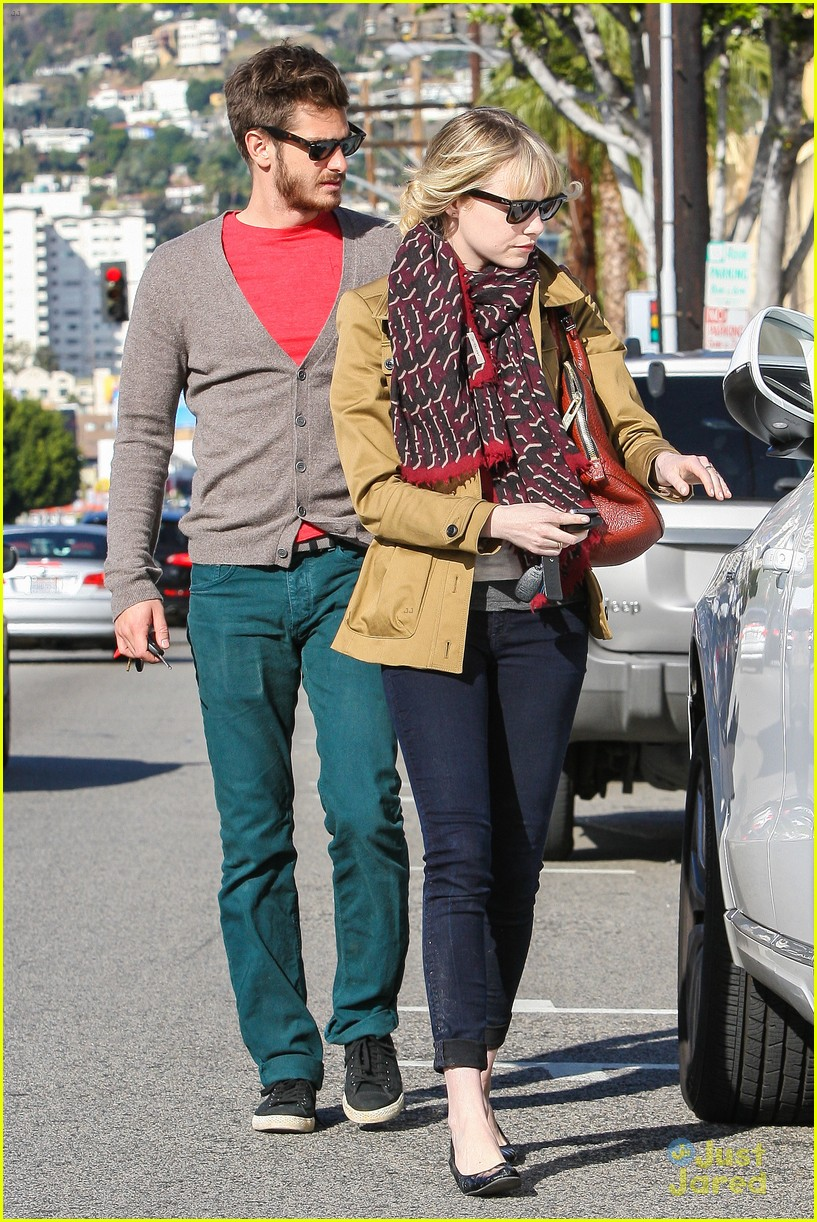 emma stone andrew garfield lunch 12