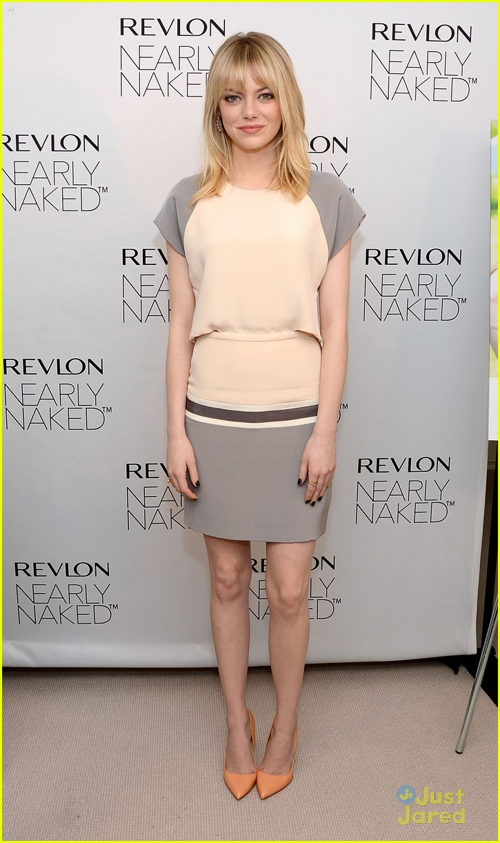 emma stone nearly naked revlon 01