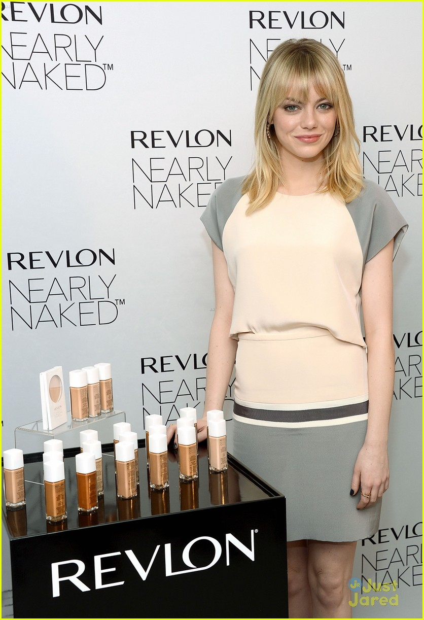 emma stone nearly naked revlon 02