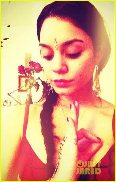 vanessa hudgens joins instagram meditates like ravi shankar 01