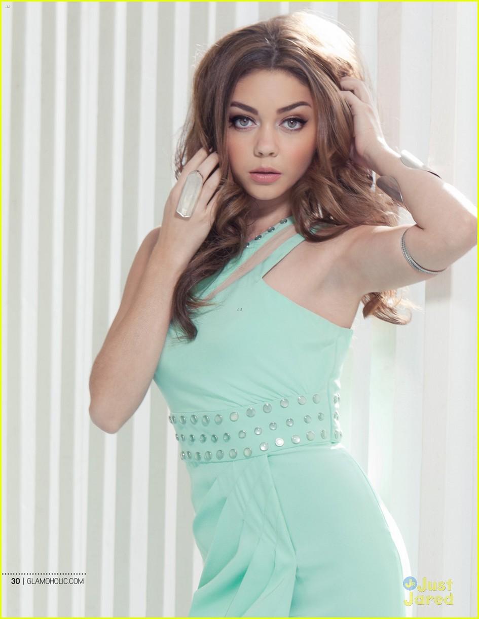 sarah hyland glamoholic december cover 02
