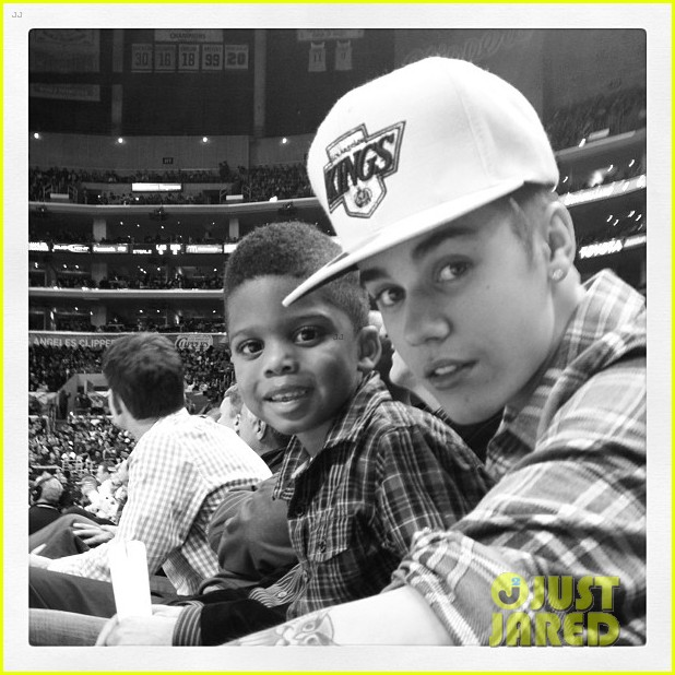 justin bieber la clippers game 04
