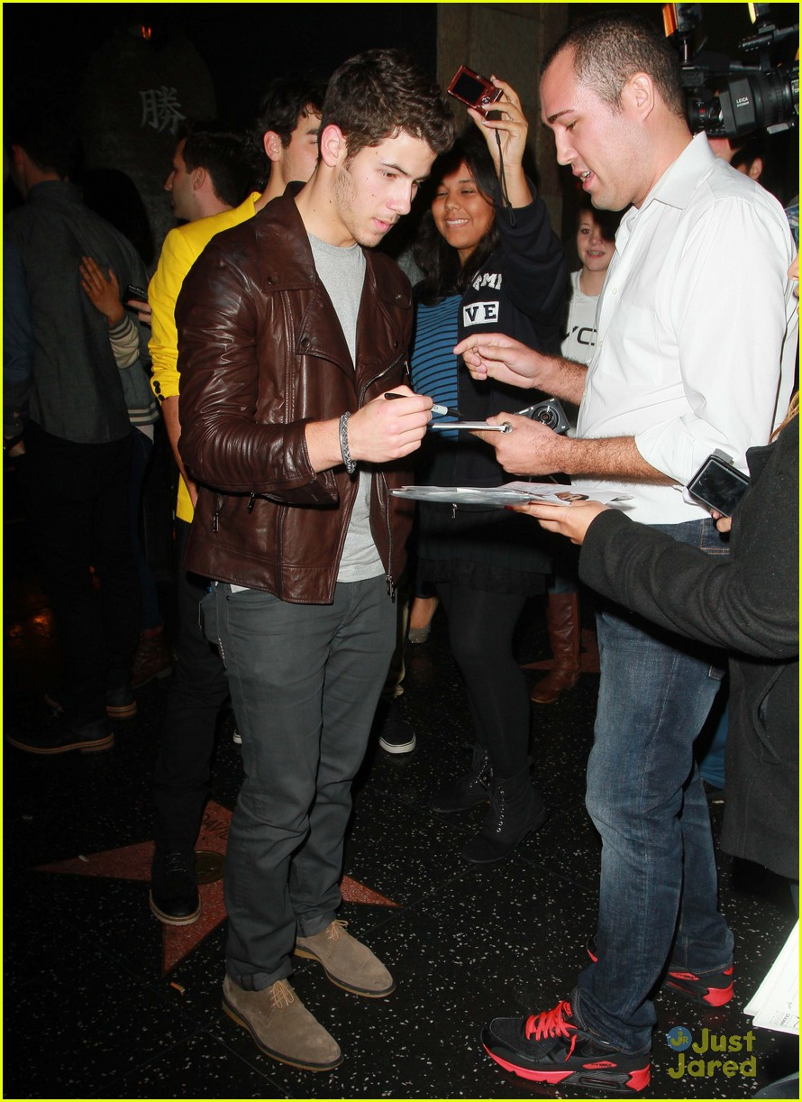 joe nick kevin jonas katsuya dinner 06